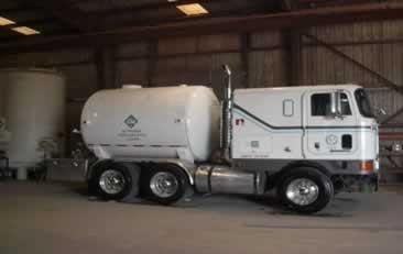 Custom tank on stumpy trailer